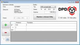 Doprava POHODA E1 (DPD)