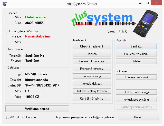 PlusMobile server